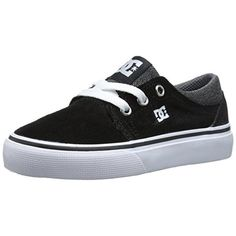 DC Trase SD Toddler Boys Suede Skate Shoes