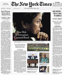Cada manobra de Lula e Dilma contra prisão e impeachment só reforça necessidade de ambosAté o New York Times assiste estarrecido à rede de corrupção petista. Veja resumão Por: Felipe Moura Brasil  04/04/2016 às 13:11