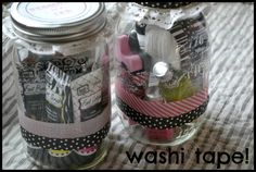 Pedicure in a jar. Perfect for Christmas gifts!