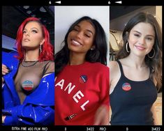 "Bebe Rexha, Lori Harvey, Selena Gomez and more share ""I Voted"" selfies that inspire fans to hit the polls Election Day 2020. Lori Harvey, Vanessa Williams, Long Brunette, Joey King, Tracee Ellis Ross, Bebe Rexha, Jessica Biel, Eva Longoria, Celebrity Beauty"