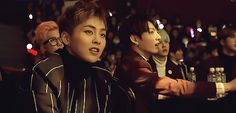 Cute singing Xiumin with BTS behind him including equally cute Jungkook^.^ (1/3)
