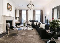 The sale of the luxury home took just months to complete despite higher stamp duty charges. House Prices, Property For Sale, Luxury Homes, Home And Garden, Real Estate, Couch, Mansions, Living Room, Stylish