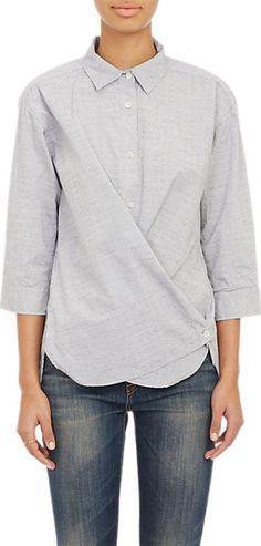 Steven Alan CrossOver Shirt - Shirts - Barneys.com