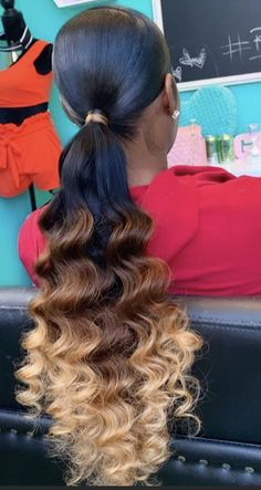 Hair Ponytail Styles, Weave Ponytail Hairstyles, African Braids Hairstyles, Protective Hairstyles, Cute Hairstyles, Long Hair Styles, Updo, Hair Inspo, Hair Inspiration