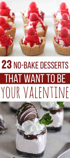 23 No-Bake Desserts That Want To Be Your Valentine | Someone make me all of these. Or one of these. As long as it has Nutella, thanks.