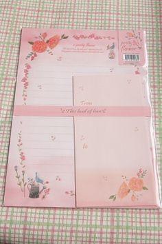 Kawaii Letter Set - The bud of love
