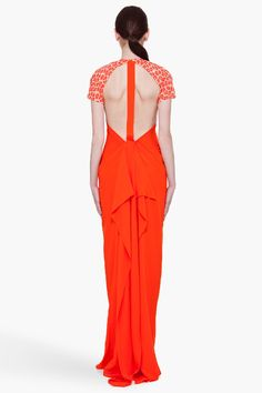 3.1 Phillip Lim - Silk T-Back Gown