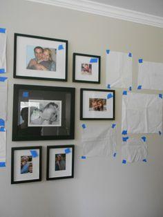Photo wall helps
