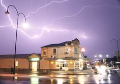 The Home Tavern in Wagga Wagga photographed during a storm on Sunday the 11th of October 2015.  Darryl's Photography. - Home Tavern, PubsBars, Wagga Wagga, NSW, 2650 - TrueLocal