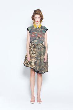 banal chic bizarre 2013 spring & summer womens collection look | coromo