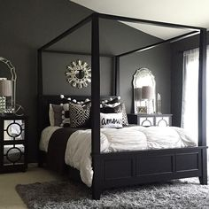ON THE BLOG: Wrapping up 2015 by answering questions and sharing resources to my bedroom! Thank you @homegoods and @inspire_me_home_decor for sharing images of this room a handful of times this year! Side note: I may or may not be addressing two negative comments I received about this bedroom on this post! Go check out what I have to say about it. Link in profile.