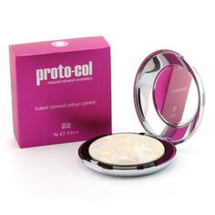 A unique unisex product, Proto-col Baked Mineral Colour Correct combines anti-inflammatory properties to combat problem areas whilst helping to improve skin hydration and elasticity. The correcting powder diminishes blemishes, redness, shine and tired looking sallow skin whilst natural hypoallergenic ingredients soften and help to restore the skins natural PH balance. Banish skin concerns and reveal a confident, radiant skin tone.