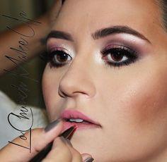 Maquiagem feita pela makeup artist @lochurchmakeup usando o Liquid Black Liner da NYX