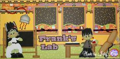 Precious Memories by Julie: Frank's Lab