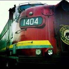 Locomotive train.