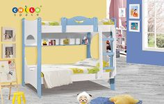 For bedrooms that are far from boring! For the best children bedroom units call us @ 09740377553 or visit http://www.childspace.co.in/