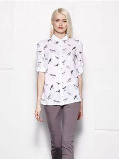 MOHITO - Koszula z podwijanymi rękawami