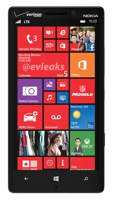 Rumored Lumia 929 spotted in a leaked photo