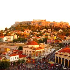 Walk the streets of Athens, Greece #solebike