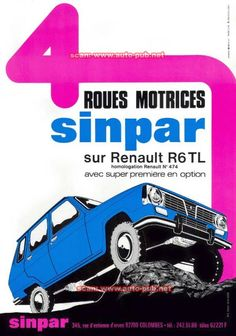 Renault 6 Sinpar 4X4