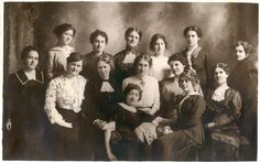 Ancestors Live Here: Fridays Faces From the Past ~ Unidentified Group