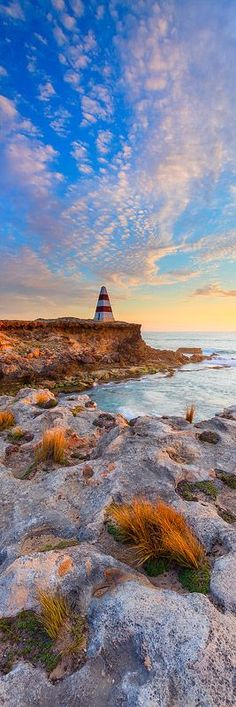 View Mark Gray's stunning limited edition print of sunset at the Robe Obelisk in South Australia. Australia House, Australia Beach, Australia Travel, Australia Photos, Travel Around The World, Around The Worlds, Adelaide South Australia, Kangaroo Island, Wanderlust