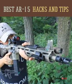 The best AR15 is the one that works the best for the person using it.  This means ditching the generic gun and personalizing your weapon with the right AR15 parts for you.  From hacking your handleto picking differentpins, we have tips we bet you've never thought of.  You can easily become a