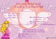Free Princess birthday party invitations for you to download http://www.supersteph.com/?q=free-stuff