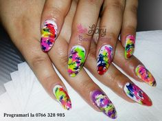 coloured nails   http://www.larybeautycenter.ro/servicii/unghii-cu-gel-sau-acryl