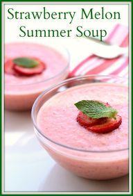 Wild Blueberry Soup With Mint Recipe — Dishmaps