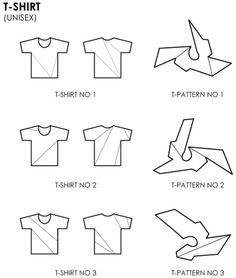 new shape for your t-shirts - pattern