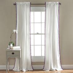 Pom Pom Window Curtain