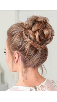 High Bun Hairstyles, Braided Hairstyles For Wedding, Short Bob Hairstyles, School Hairstyles, Anime Hairstyles, Hairstyles Videos, Hairstyle Short, Office Hairstyles, Stylish Hairstyles