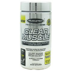 Muscletech Clear Muscle, 84 Liquid Caps