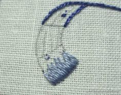 Long and Short Stitch Lesson Shaded Curves Embroidery Needles, Crewel Embroidery, Hand Embroidery Designs, Cross Stitch Embroidery, Embroidery Patterns, Needlepoint Stitches, Needlework, Sewing Crafts, Sewing Projects