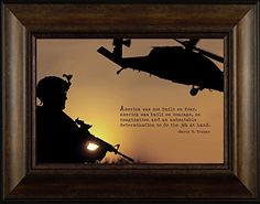 Built on Courage By Todd Thunstedt 20x26 Patriotic Soldier Military Constitution George Washington Lincoln Reagan Eagle West Point F22 Raptor Pilot Framed Art Print Wall Décor Picture ThunderMark Art and Graphics http://www.amazon.com/dp/B014ECLHLU/ref=cm_sw_r_pi_dp_9R54vb0E15FS9