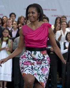 Ok last one :)   Great Outfits: Michelle Obama