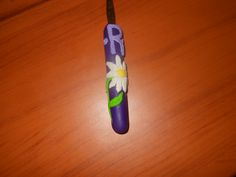 New item! Clay crochet hook covers! These are made from Sculpey and crafted with love by me! www.facebook.com/tiptoppershats