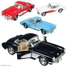 Die Cast 1957 Die Cast Corvette
