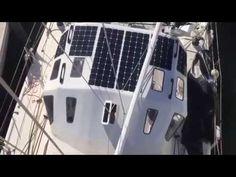 Energie solari e umane per Solo Round The Globe Record - YouTube
