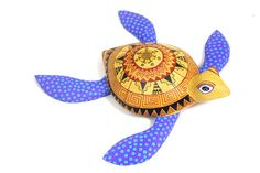 turtle art | This a wonderful carving by a top Oaxacan artists.