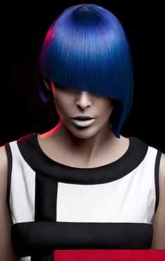 STYLING model hair ≈ :: Piet Mondrian Collection by Milica Shishalica POST YOUR FREE LISTING TODAY!   Hair News Network.  All Hair. All The Time.  http://www.HairNewsNetwork.com