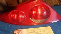 "1999-2002 Mercury Cougar Left Tail Light.  OEM.  Used.  Good condition.  Asking $50.00  Quality Auto Salvage 14955 Westwoods Rd. Wright City, MO 63390 1(800)483-8921 qualityautosalvage.com ""LIKE"" us on Facebook! Follow us on Twitter ""at"" Salvage_Quality"
