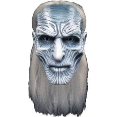 Halloween Game of Thrones: White Walker Mask - One Size Fits Most Color: Multi-Colored. Halloween Game of Thrones: White Walker Mask - One Size Fits Most Men's Multi-Colored Game Of Thrones Mask, Costumes Game Of Thrones, Game Of Thrones Halloween, Halloween Games, Adult Halloween, Halloween Cosplay, Halloween Ideas, Halloween 2017, Halloween Stuff