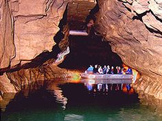plan a hot day to visit a cool cave like at bluespring caverns, Shoals, Indiana