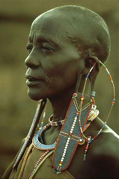 . African Tribes, African Women, African Art, Cultures Du Monde, World Cultures, Black Is Beautiful, Beautiful People, Art Africain, Tribal People