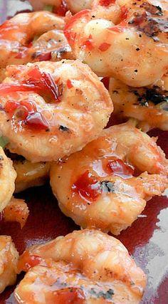 Spicy Thai Grilled Shrimp