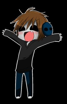 Chibi eyeless jack Jack: I WANNA HUG Skye: YAY! *Hugs*