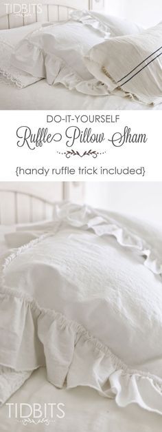 Ruffle Pillow Sham t