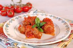 #Involtini al #sugo #ricetta#recipe#ricettaitaliana #italianrecipe